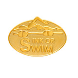 SWIMMING Lapel Pin