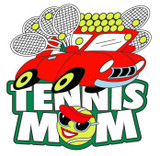 Tennis Mom Lapel Pin