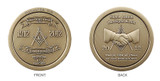 Masonic Coin Britton Lodge 434