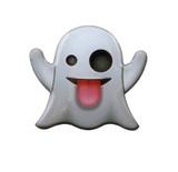 Ghost Emoji Lapel Pin