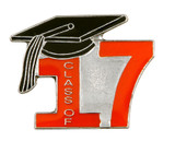 Class of 2017 Lapel Pin (6 Color Options)