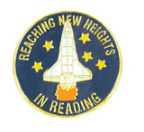 Reaching New Heights in Reading Lapel Pin
