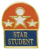 Star Student Lapel Pin