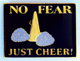 No Fear Just Cheer Lapel Pin (CHR-102)