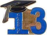 Class of 2013 Lapel Pin (6 Color Options)