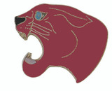 Panther (Burgundy) Lapel Pin