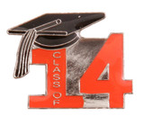 Class of 2014 Lapel Pin (6 Color Options)