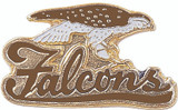 Falcons (Brown) Lapel Pin