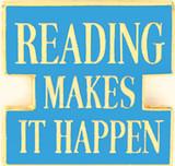 Reading Makes it Happen Lapel Pin