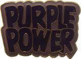 Purple Power Lapel Pin