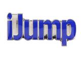iJump (BLUE) Lapel Pin (CHR-247B)