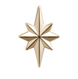 Star of Bethlehem Lapel Pin