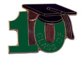 Class of 2010 (Green) Lapel Pin