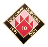 Bear Creek Quilt Guild 1991 - 2001