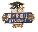 Honor Roll Student Lapel Pin