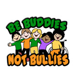 Be Buddies Not Bullies Lapel Pin