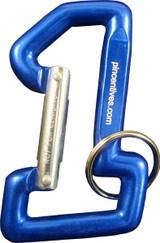 Carabiner #1 Shaped - Blue