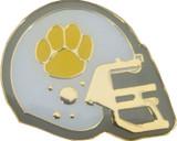 Football Helmet Lapel Pin (9 Color Options)