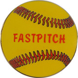 Softball - FASTPITCH Lapel Pin