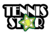 Tennis Star Lapel Pin