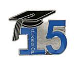 Class of 15' Blue Lapel Pin