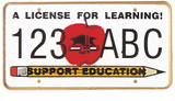 License For Learning Lapel Pin
