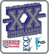2009 FCC Nationals Cheerleading Championships pin