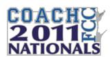FCC 2011 Nationals Coaches Lapel Pin
