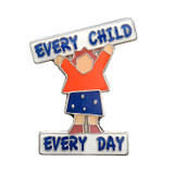 Every Child Every Day Lapel Pin