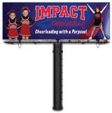 IMPACT Cheerleading with a Purpose Billboard Pin