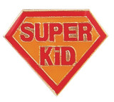 Super Kid Lapel Pin