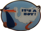 It's A Boy Lapel Pin
