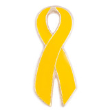 Yellow Awareness Ribbon