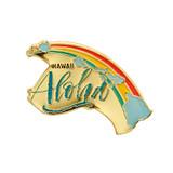 Aloha Hawaii Lapel Pin