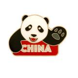 China Panda Pin