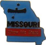 Missouri State Lapel Pin