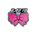 Bad to the Bow Lapel Pin