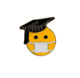 Class of Emoji Graduate with Face Mask (COV-GRD)