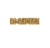 Co-Captain Lapel Pin (Gold Tone)