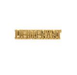 Lieutenant Lapel Pin (Gold Tone)
