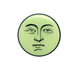 Man on the Moon (Glow in the Dark) Lapel Pin