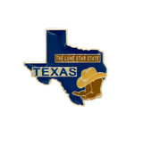 Texas Lone Star Lapel Pin