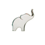 Elephant Silhouette Lapel Pin