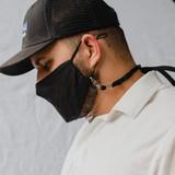Adjustable Mask Lanyard (Black)