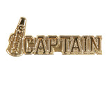 Cheer Captain (8 Color Options) Lapel Pin