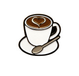 Coffee Cup Lapel Pin (5 Color Options)