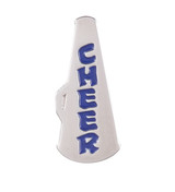 CHEER Silver Megaphone Lapel Pin (4 Color Options)