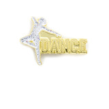 Dance Silhouette ( 2 Color Options) Lapel Pin