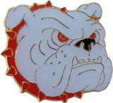 Bulldog with Collar (3 Color Options) Lapel Pin