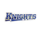 KNIGHTS on a lance, (3 Color Options) Lapel Pin